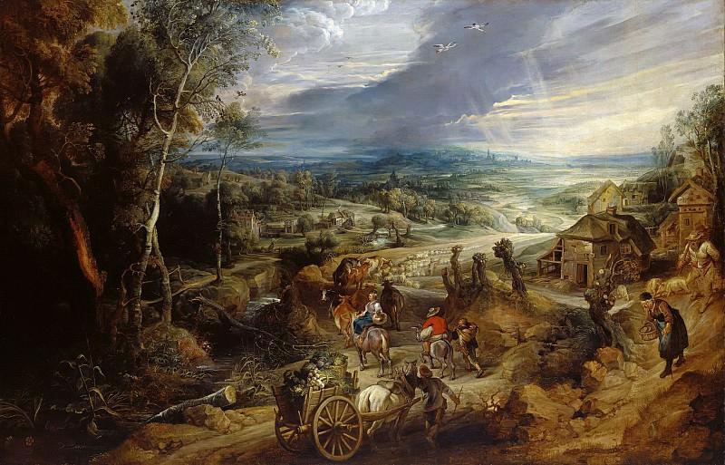 Summer - 1620 - 1630. Peter Paul Rubens
