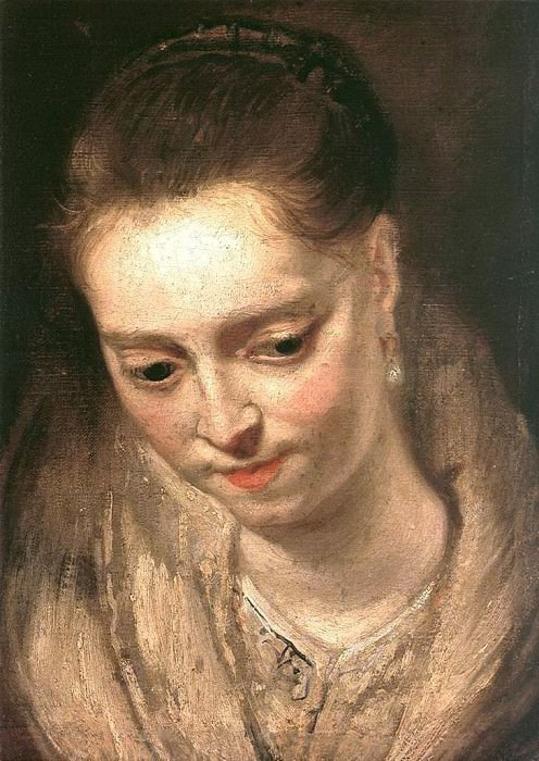 Portrait of a Woman. Peter Paul Rubens