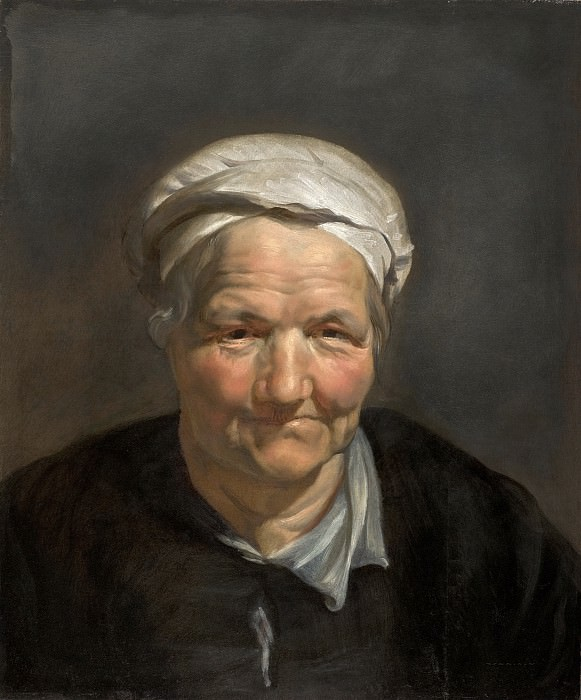 Head of an Old Woman. Peter Paul Rubens