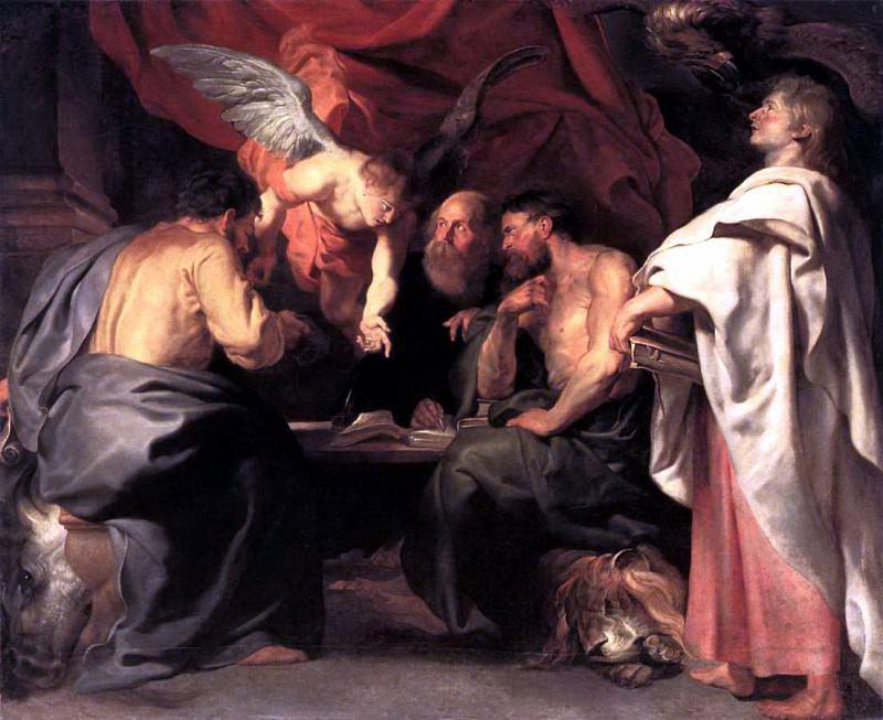 The Four Evangelists - ок 1614. Peter Paul Rubens