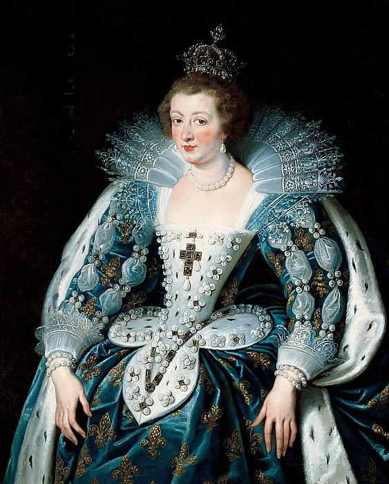 Anna of Austria, queen of France, mother of king Louis XIV. - 1622- 125. Peter Paul Rubens