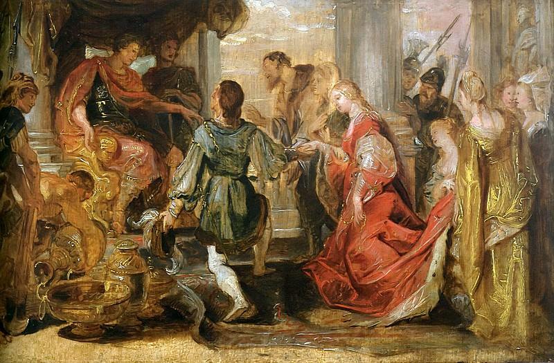 Generosity of Scipio - ок 1616 - 1618. Peter Paul Rubens