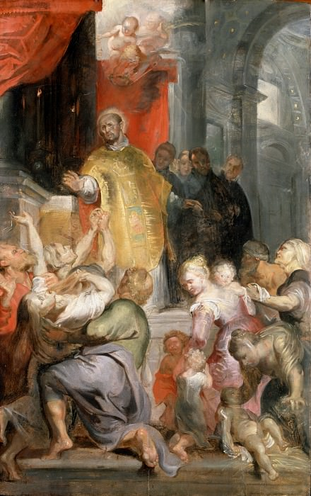 Miracles of St Ignatius - ок 1615 -1620. Peter Paul Rubens