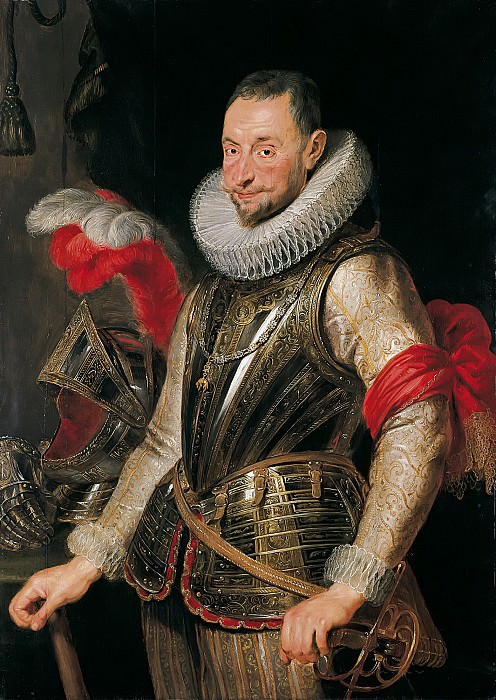 Portrait of Ambrogio Spinola. Peter Paul Rubens