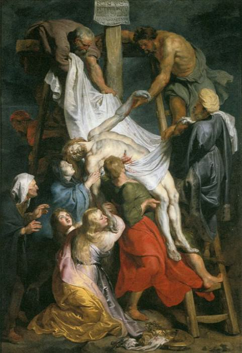 Descent from the Cross - 1616 - 1617. Peter Paul Rubens