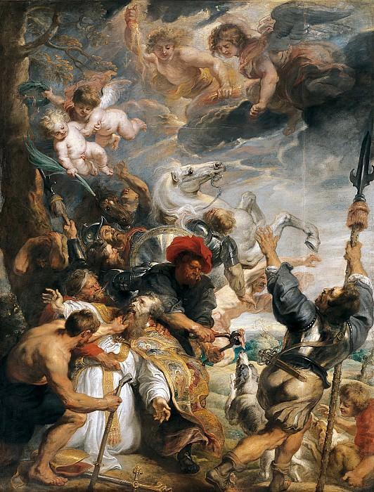 Rubens The Martyrdom of St Livinus. Peter Paul Rubens