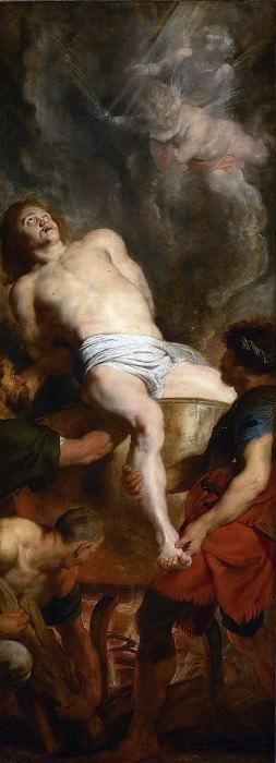Мученичество Иоанна Богослова. Peter Paul Rubens