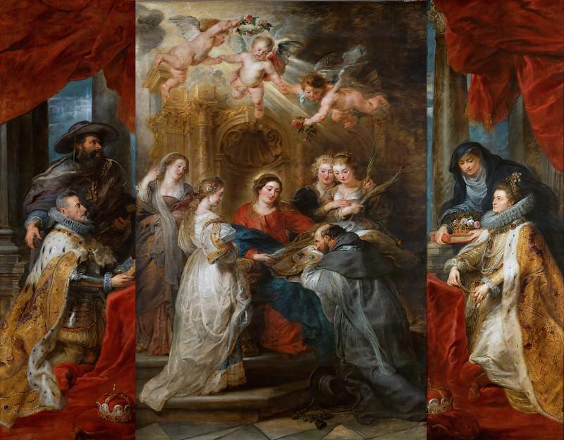 Ildefonso Altar. Peter Paul Rubens
