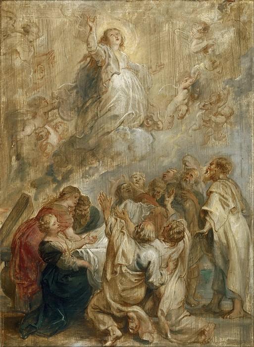 The Assumption of the Virgin. Peter Paul Rubens