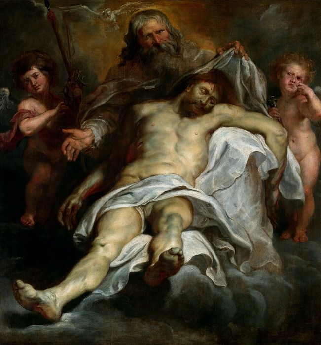 Holy Trinity. Peter Paul Rubens