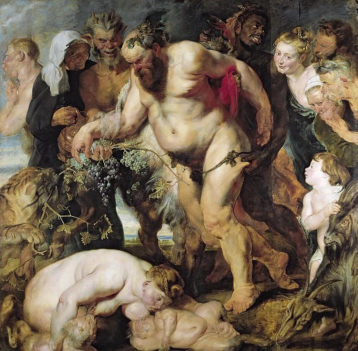 Drunken Silenus. Peter Paul Rubens