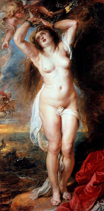 Rubens (1577-1640) - Andromeda. Part 4
