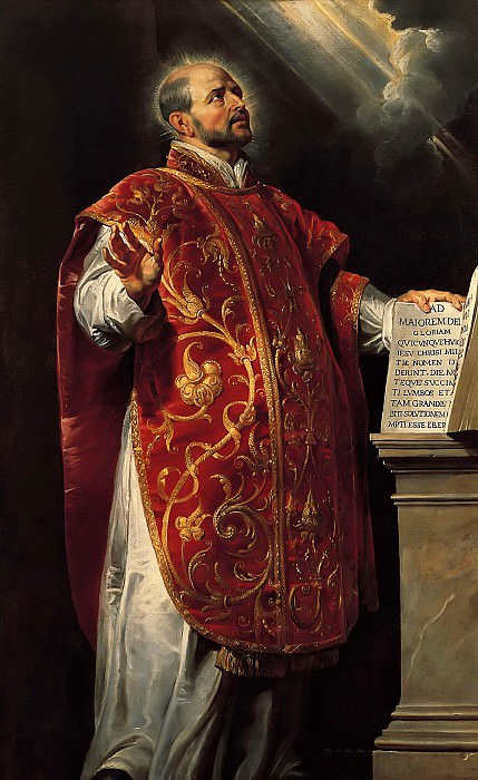 Saint Ignatius of Loyola, c. 1620-22 --. Peter Paul Rubens