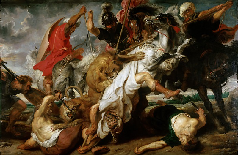 Lion Hunt - 1621. Peter Paul Rubens