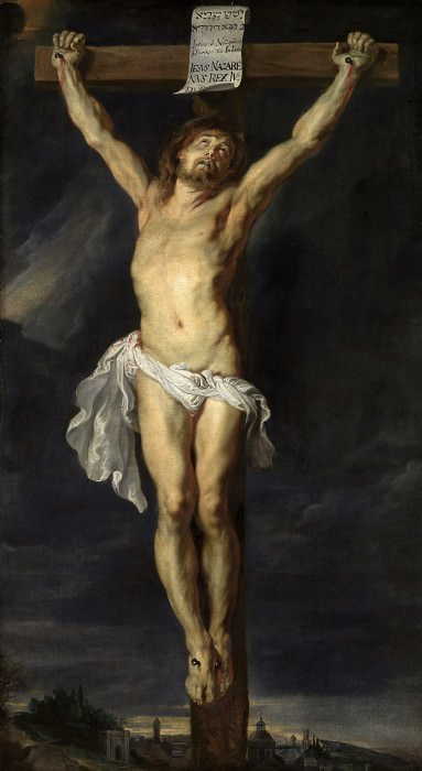 The Crucified Christ - 1610 -1611. Peter Paul Rubens