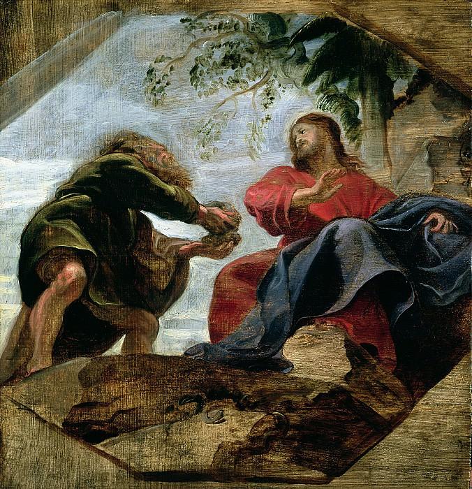 Искушение Христа. Peter Paul Rubens