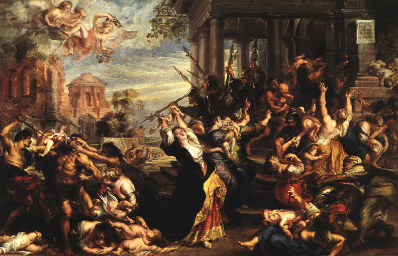 Massacre of the Innocents WGA. Peter Paul Rubens