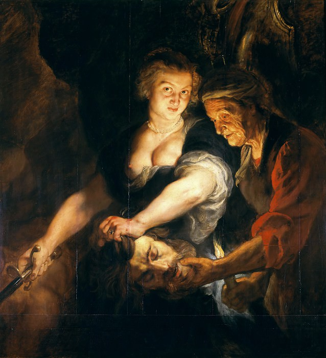 Judith with the Head of Holofernes - 1616. Peter Paul Rubens