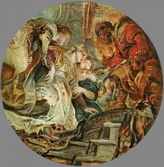 Esther and Ahasverus - 1606. Peter Paul Rubens