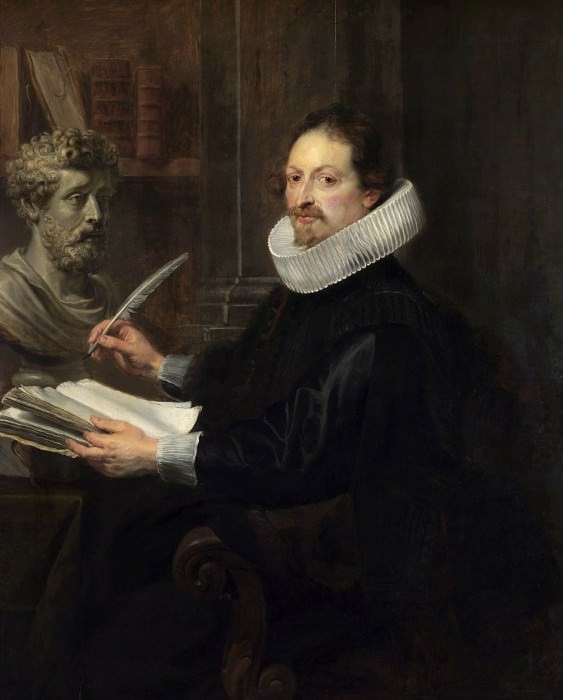 Rubens Portrait of Jan Gaspar Gevartius. Peter Paul Rubens