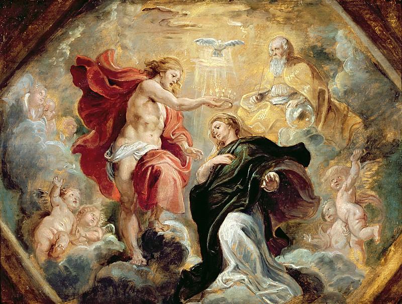 Коронование Марии. Peter Paul Rubens