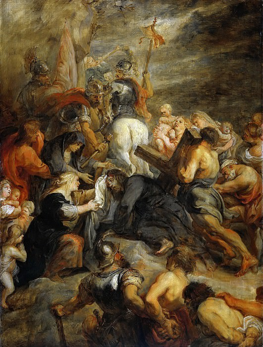 Christ Carrying the Cross. Peter Paul Rubens