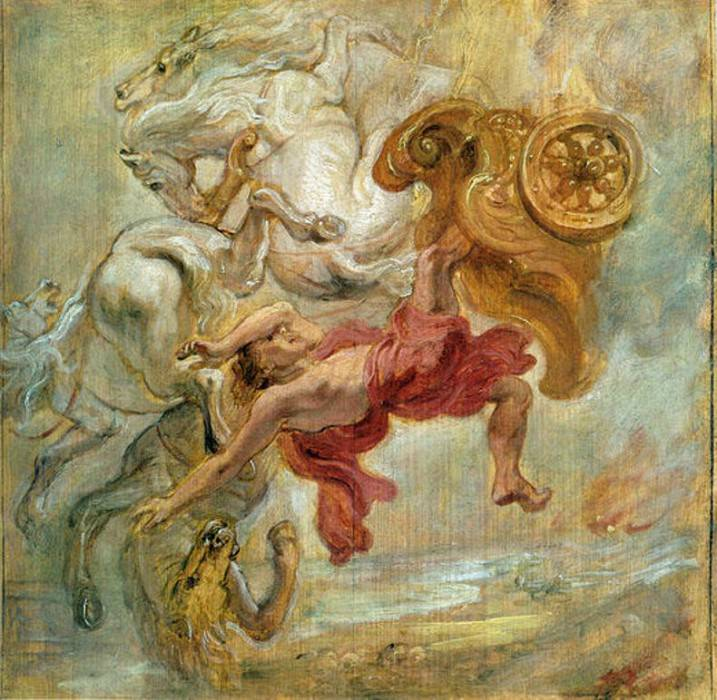 Fall of Phaeton - 1636. Peter Paul Rubens