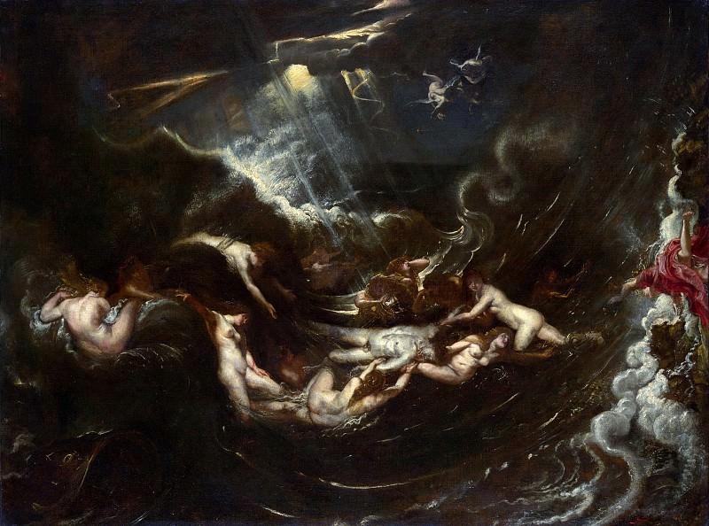 Hero And Leander. Peter Paul Rubens