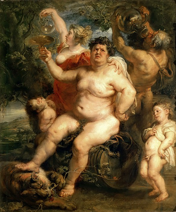 Bacchus - Вакх - 1638 - 1640. Peter Paul Rubens