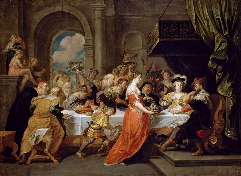 The Feast of Herod. Peter Paul Rubens (After)