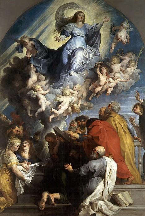 Assumption of the Virgin. Peter Paul Rubens