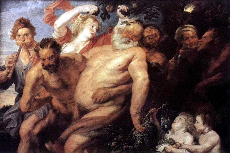 Drunk strong - c. 1620. Peter Paul Rubens