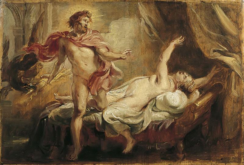 Peter Paul Rubens -- Jupiter et Sémélé. Peter Paul Rubens