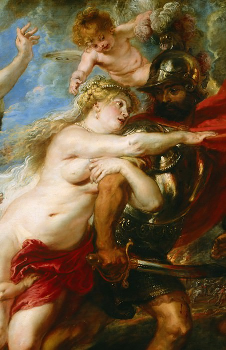 Rubens The Consequences of War detail1. Peter Paul Rubens