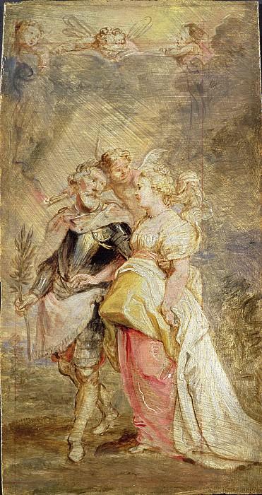 Союз Генриха IV и Марии Медичи. Peter Paul Rubens