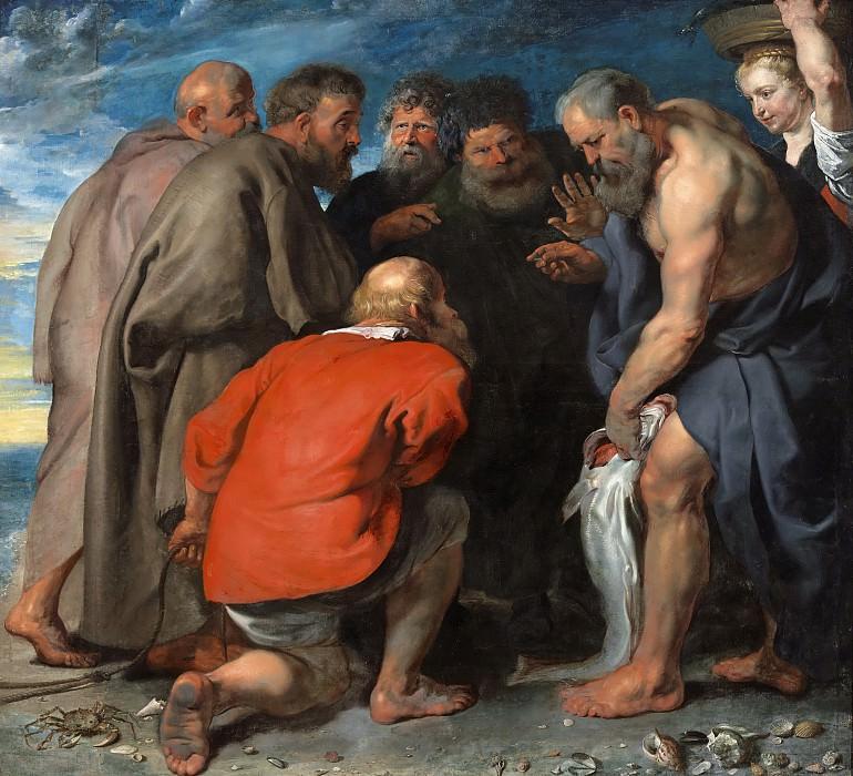Saint Peter Finding the Tribute Money. Peter Paul Rubens