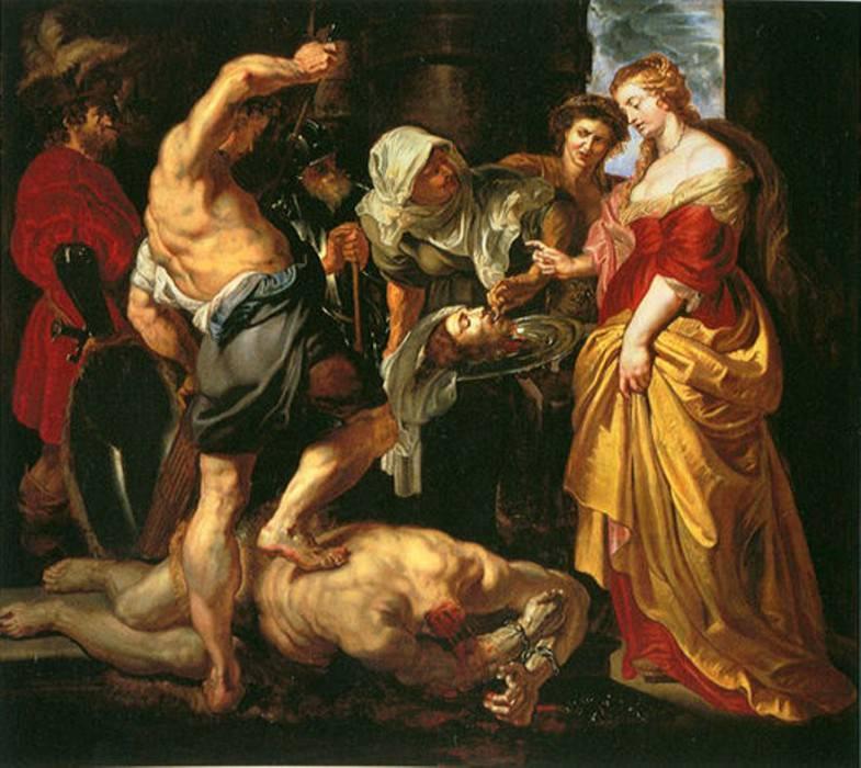 Beheading of St John the Baptist - 1609 - 1610. Peter Paul Rubens