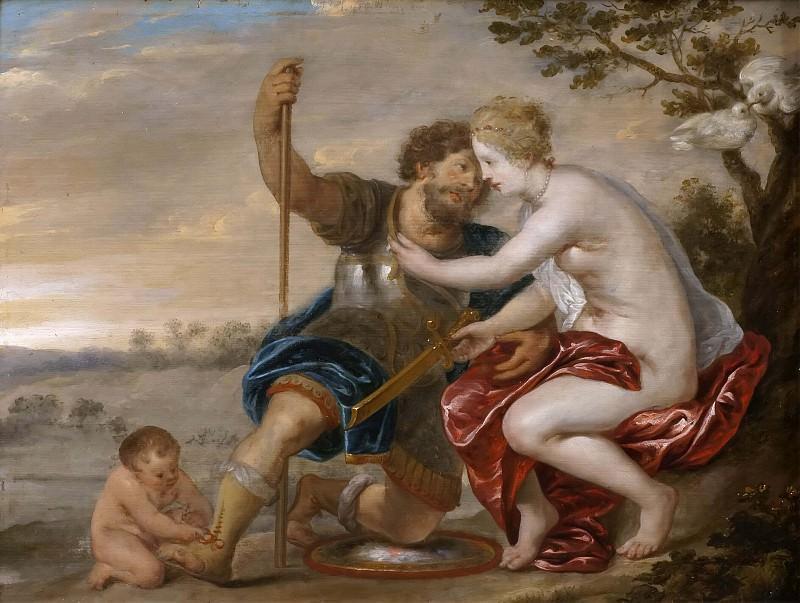 Mars, Venus and Cupid. Peter Paul Rubens (Manner of)