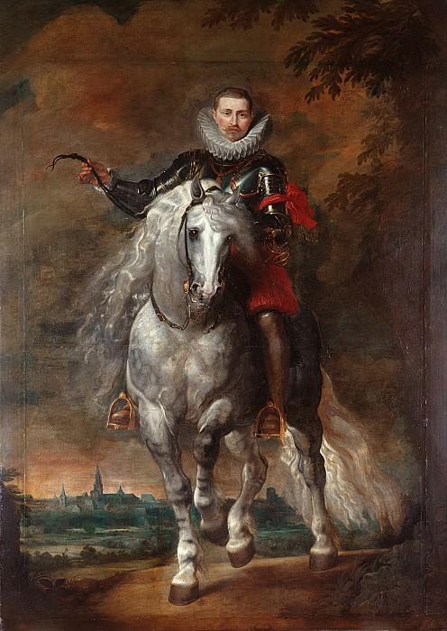 Конный портрет дона Родриго Кальдерона. Peter Paul Rubens
