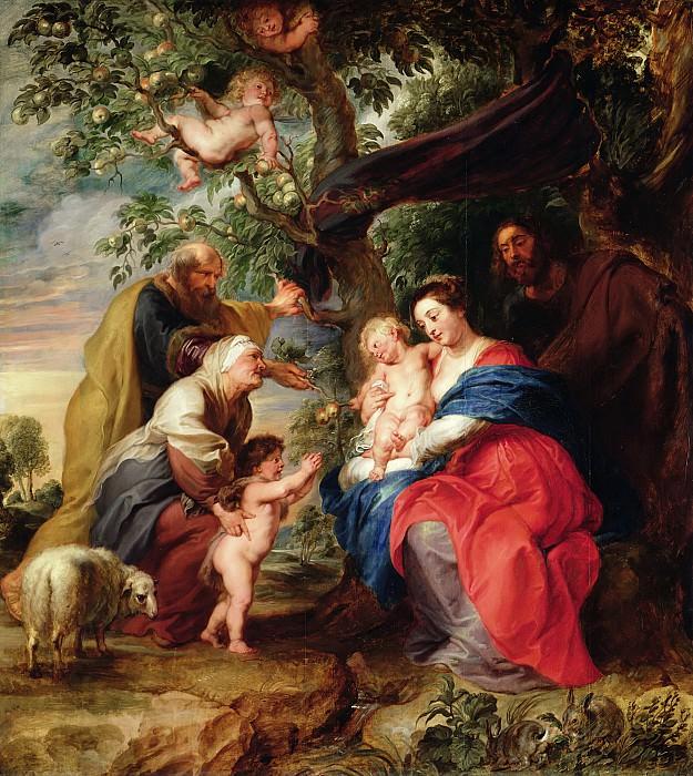Святое Семейство под яблоней. Peter Paul Rubens