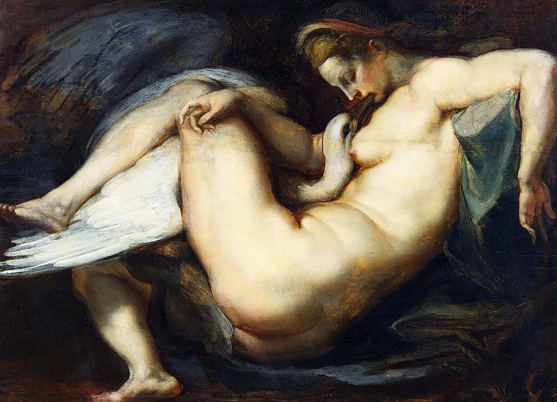 Leda and Swan - 1598-1600. Peter Paul Rubens