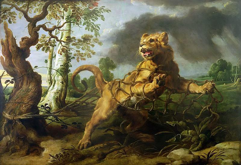 Лев и мышь (совместно с Франсом Снейдерсом). Peter Paul Rubens