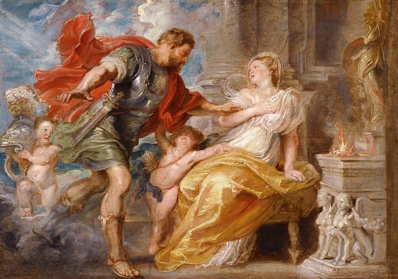 Rubens Mars and Rhea Silvia. Peter Paul Rubens