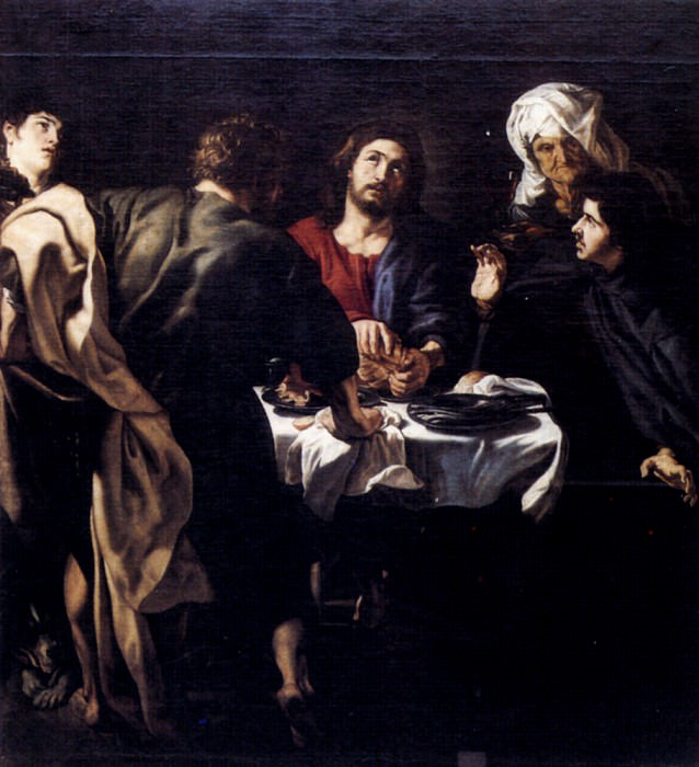 Rubens The Supper At Emmaus. Peter Paul Rubens