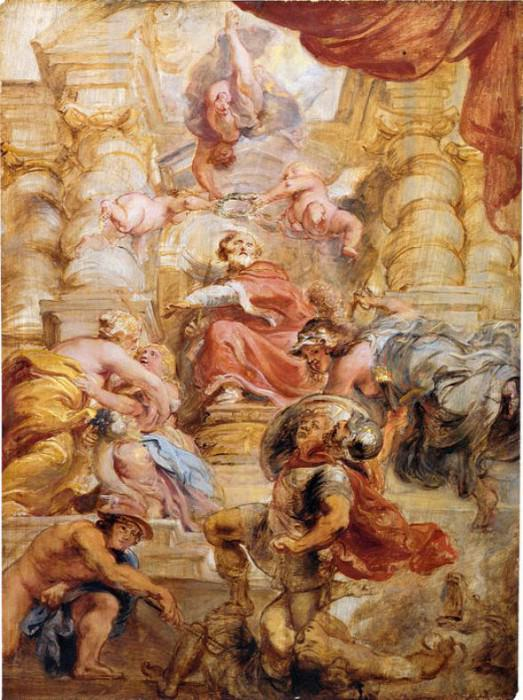 King James I of England - ок 1632 -1633. Peter Paul Rubens