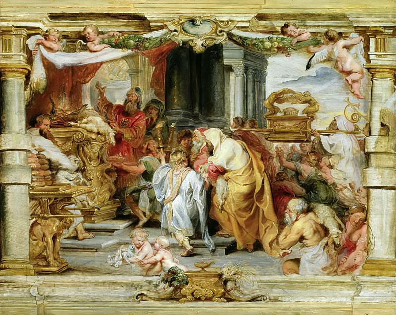 The Sacrifice of the Old Covenant - 1626. Peter Paul Rubens