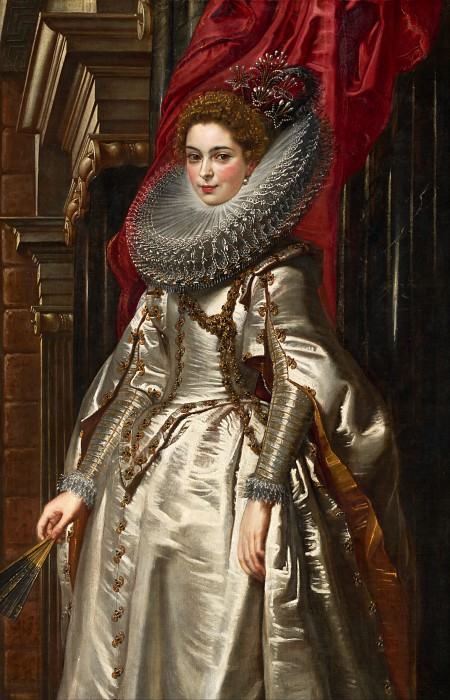 Marchesa Brigida Spinola Doria - 1606. Peter Paul Rubens
