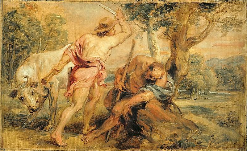 Mercury and Argus - 1636. Peter Paul Rubens