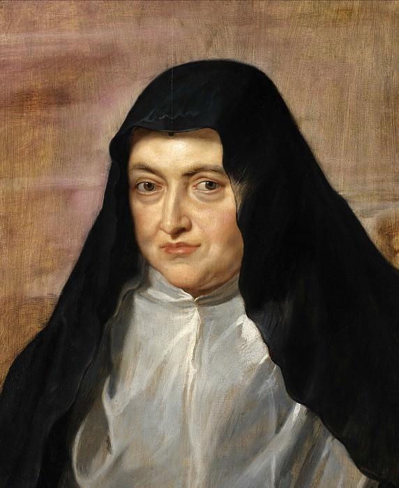 Эрцгерцогиня Изабелла в образе монахини. Питер Пауль Рубенс