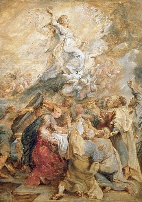 Вознесение Девы Марии. Peter Paul Rubens